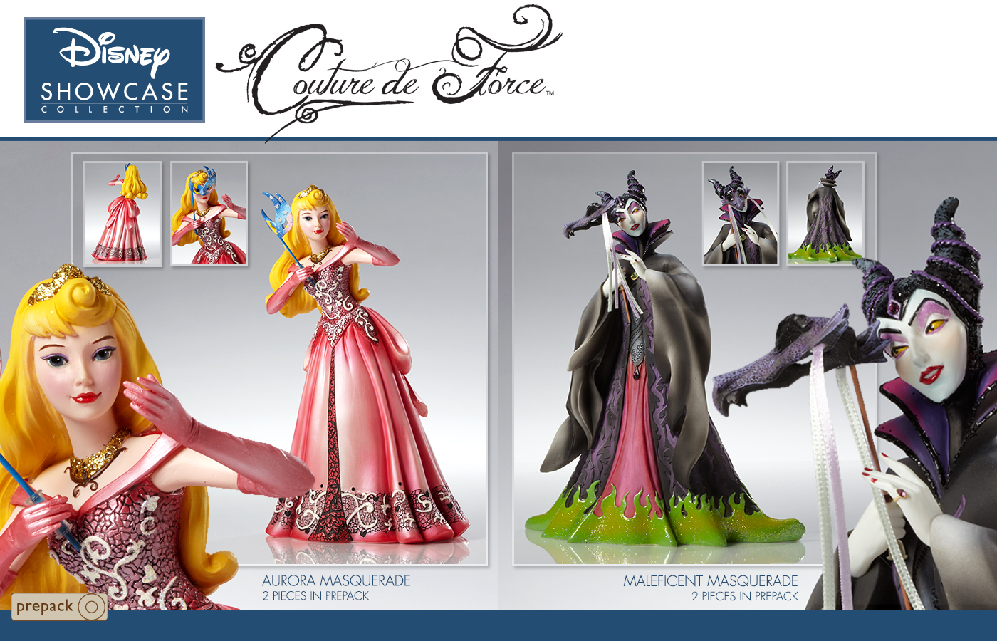 New Masquerade Ball Couture De Force Figures Coming Soon