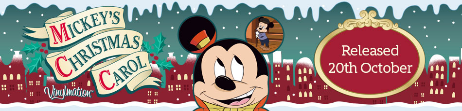 mickey u0026 39 s christmas carol vinylmations