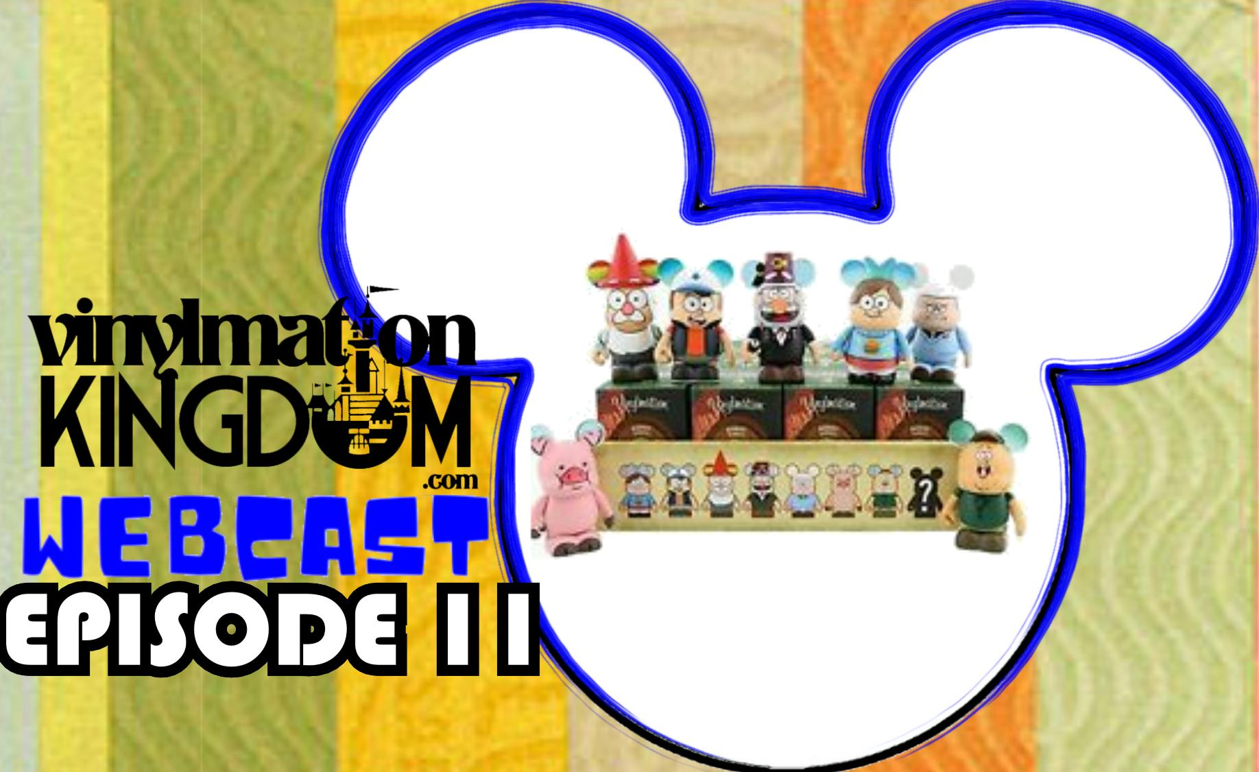 Vinylmation Kingdom Webcast 11 – Gravity Falls