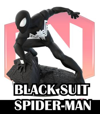 black suit spiderman disney infinity
