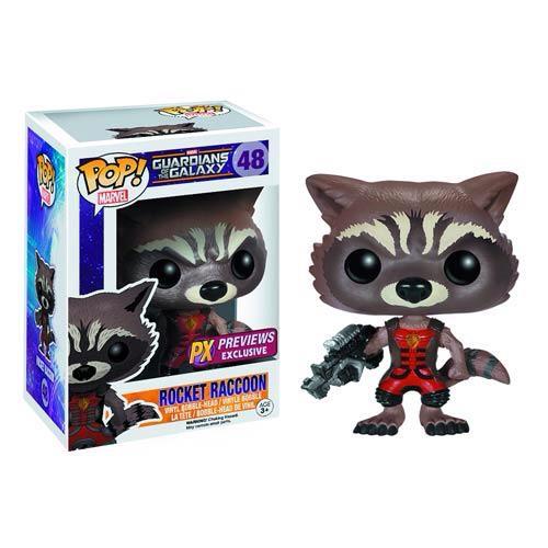 PX Exclusive Ravagers Rocket Raccoon Funko Pop Vinyl