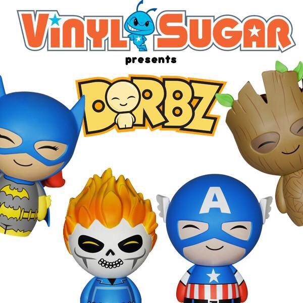 Sneak Peek At New Marvel Dorbz By Vinyl Sugar