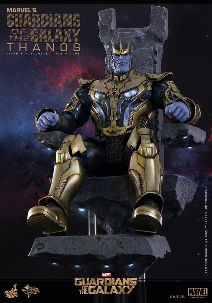 Details On A New Thanos Collectible From Hot Toys
