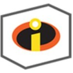 incredibles playset logo