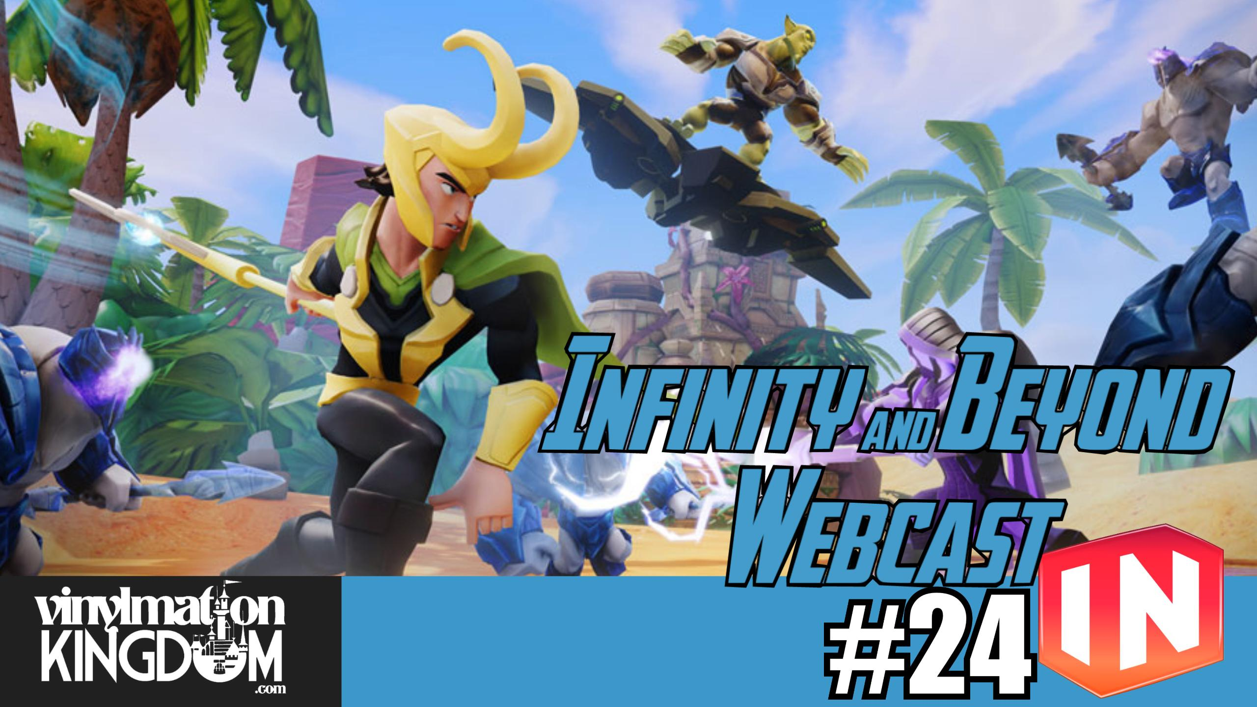 Disney Infinity & Beyond Webcast 24 – Villains, New Books & Power Disc Discussion