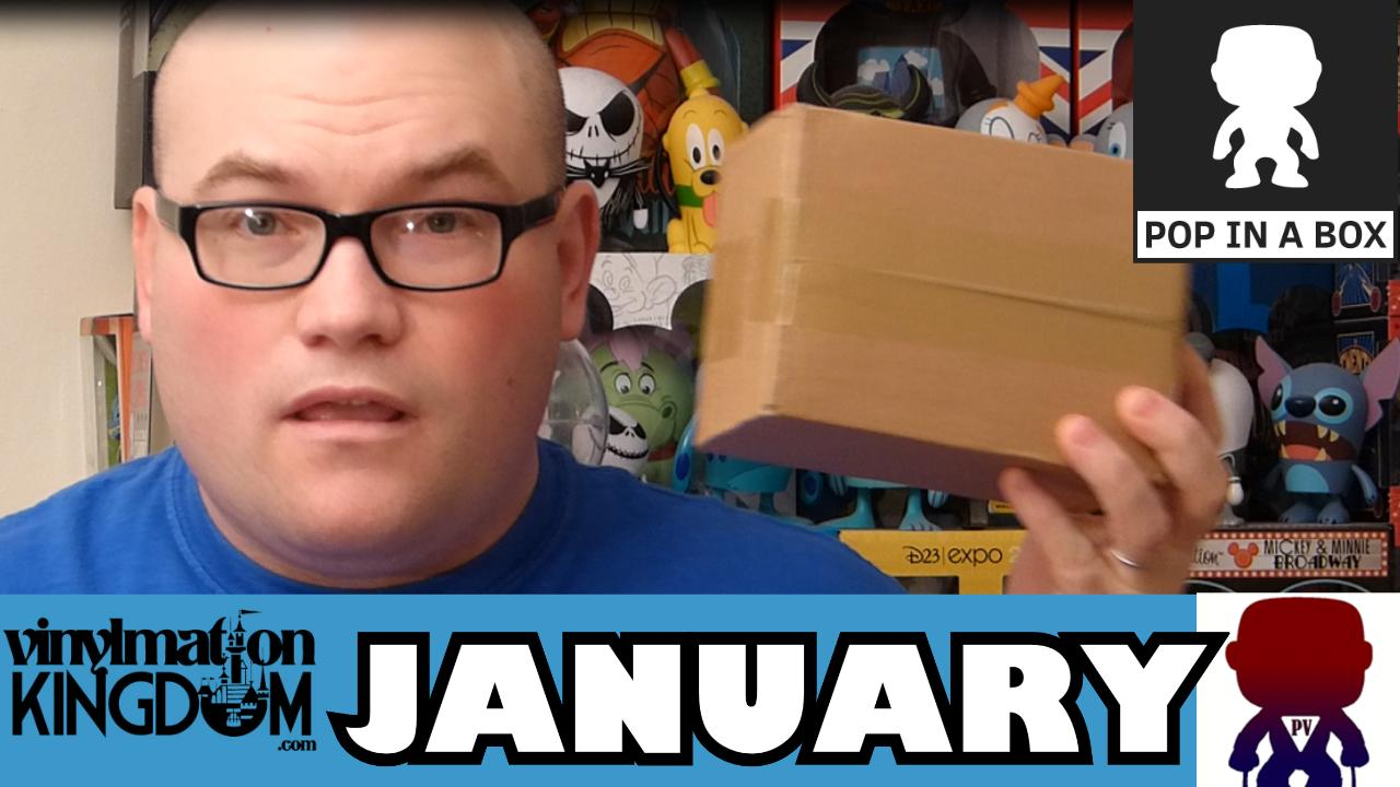 Pop In A Box Unboxing – January – Funko Pop Vinyls