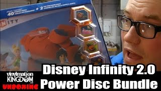 Disney Infinity 2.0 Power Disc Bundle Album Unboxing