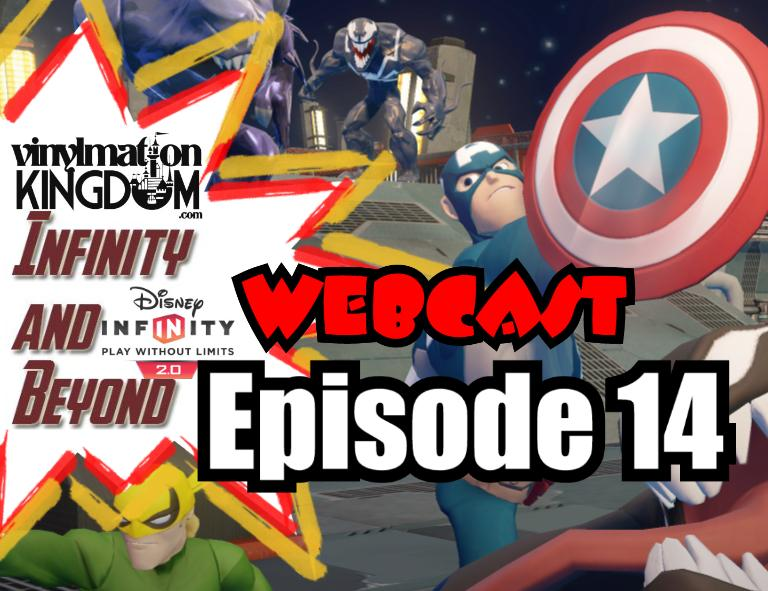 Disney Infinity & Beyond Webcast #14 – Disney Originals, Repaint/Variants, Toy Box Starter Pack & Much More