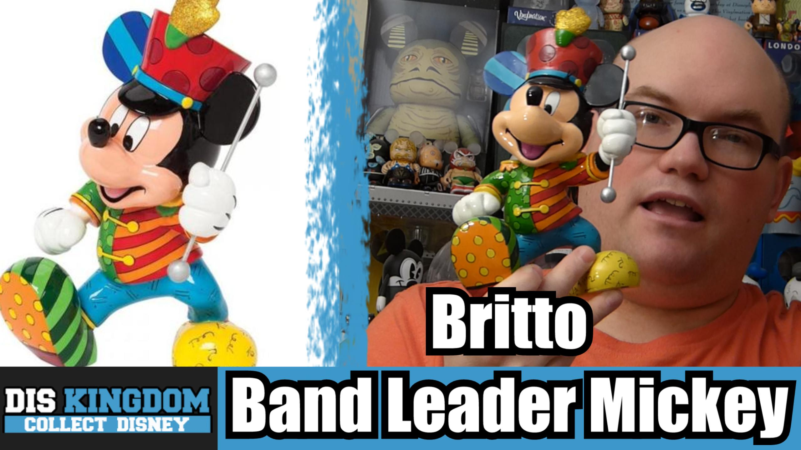 Britto Band Leader Mickey Mouse Review