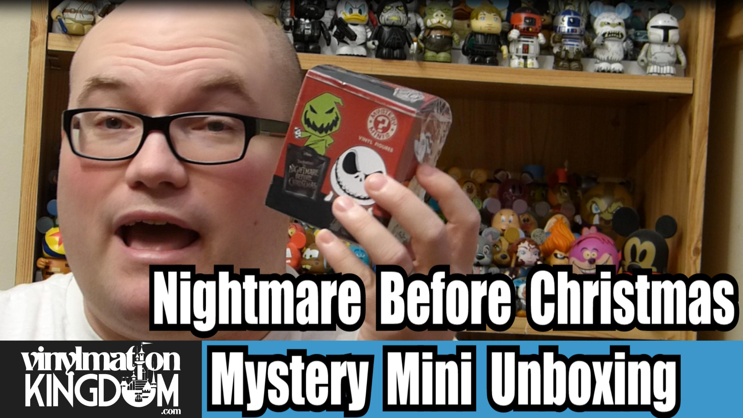 Nightmare Before Christmas Mystery Mini Unboxing