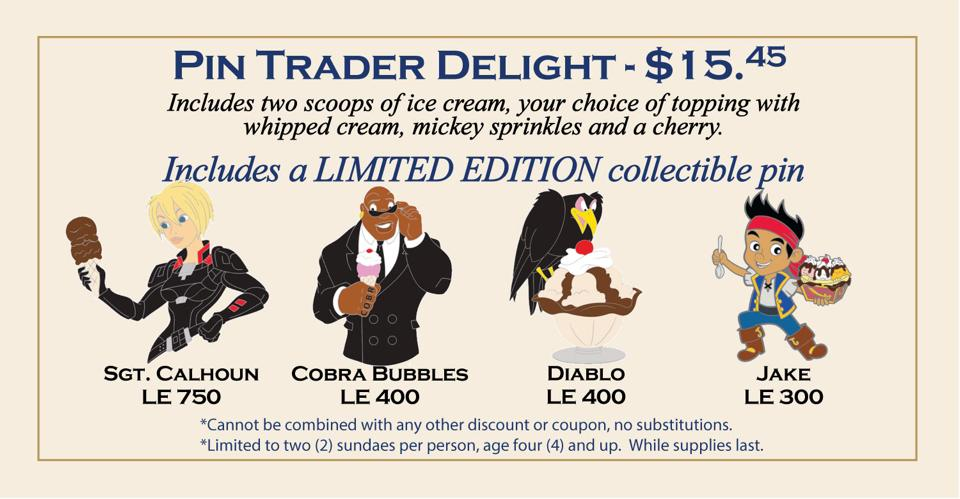 Latest Pin Trader Delights Pins