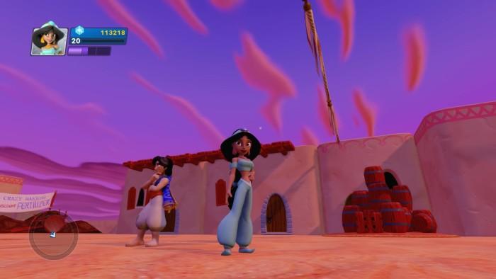 Jasmine in game.