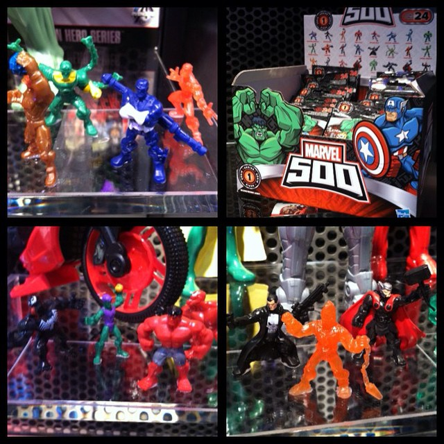 First Look At Marvel 500 Blind Bag Collectible – Toy Fair