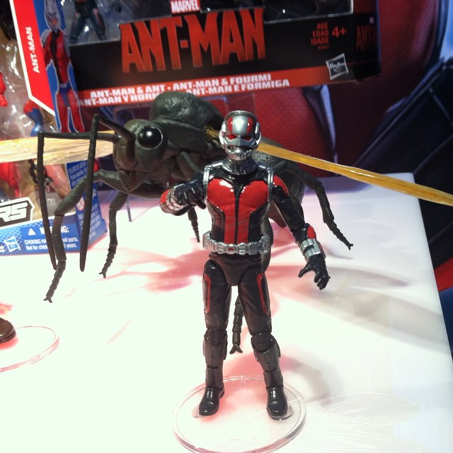 Hasbro Announced Ant-Man Action Figures