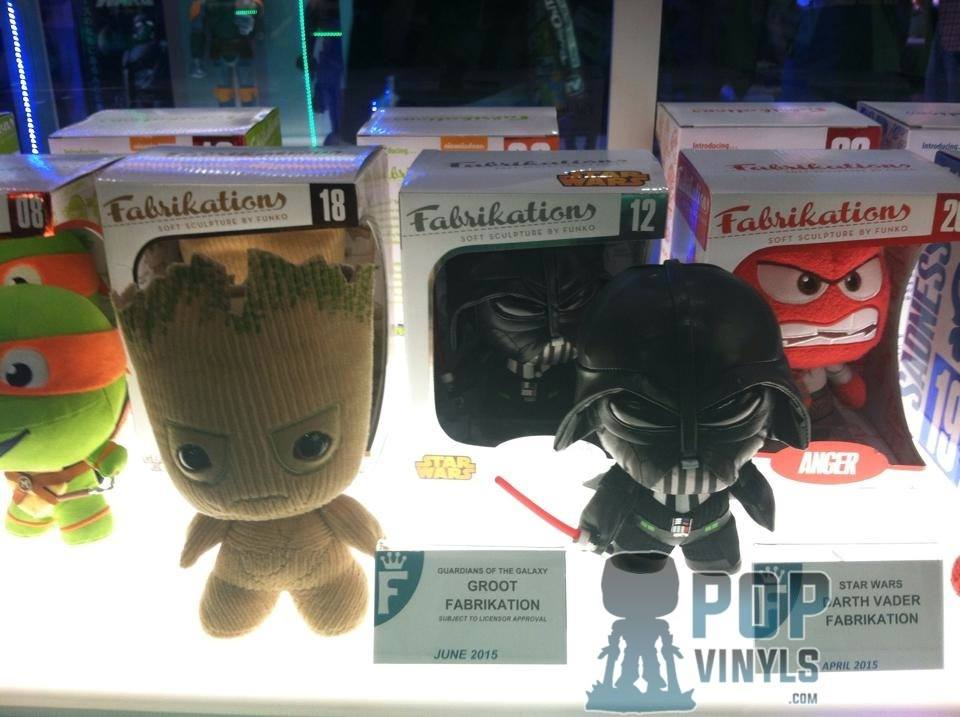 Inside Out, Star Wars & Marvel Fabrikation Previews – Toy Fair