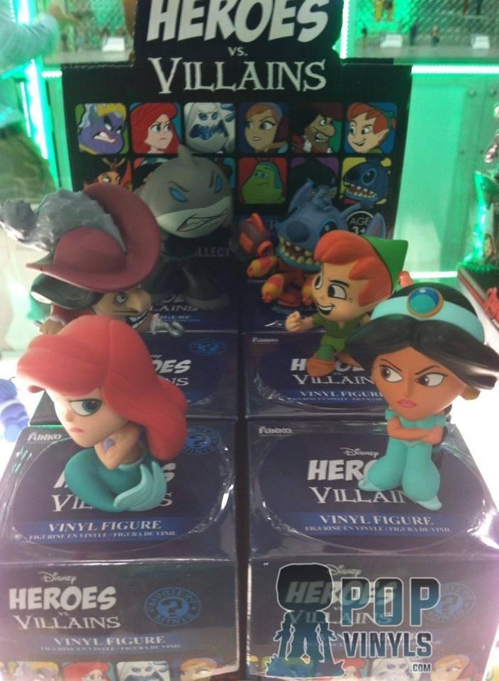 Disney heroes vs villains