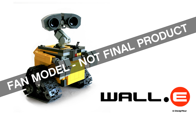 Wall-E and Doctor Who Coming to Lego!