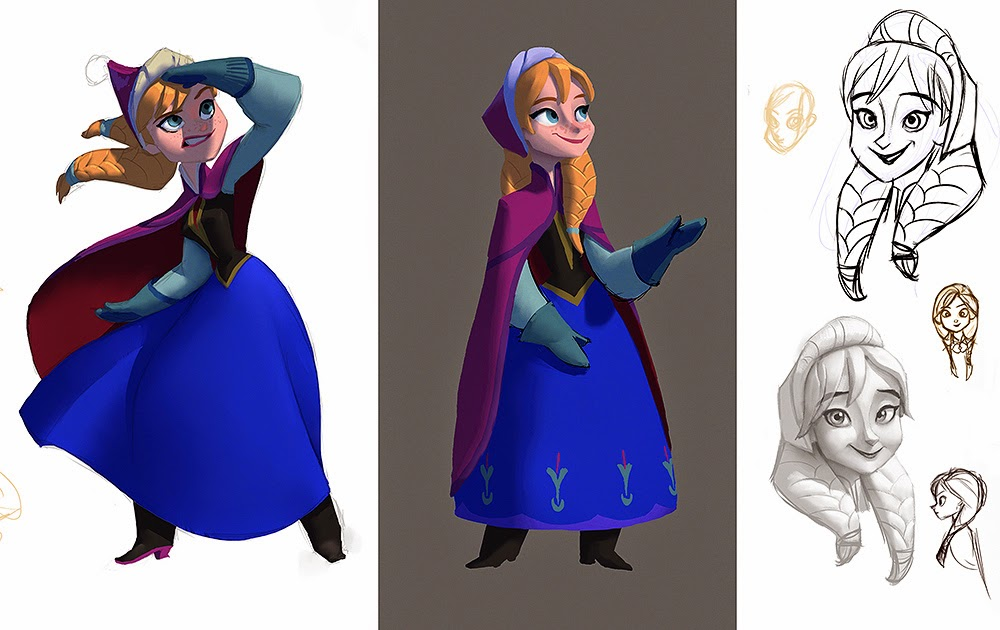Disney Character Design Process : A look at some disney infinity early concept art