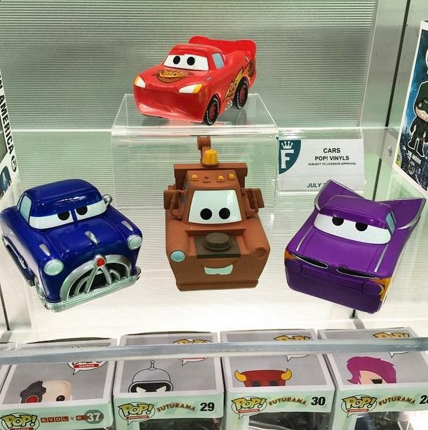 Cars Pop Vinyls Preview