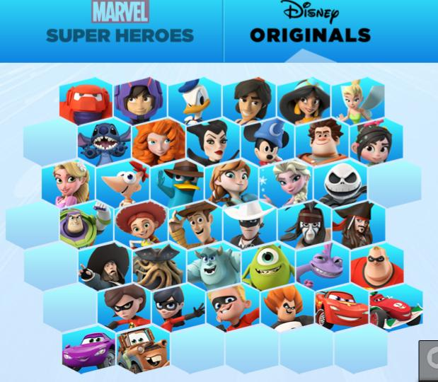 Could Empty Spaces Indicate Future Disney Infinity Characters?