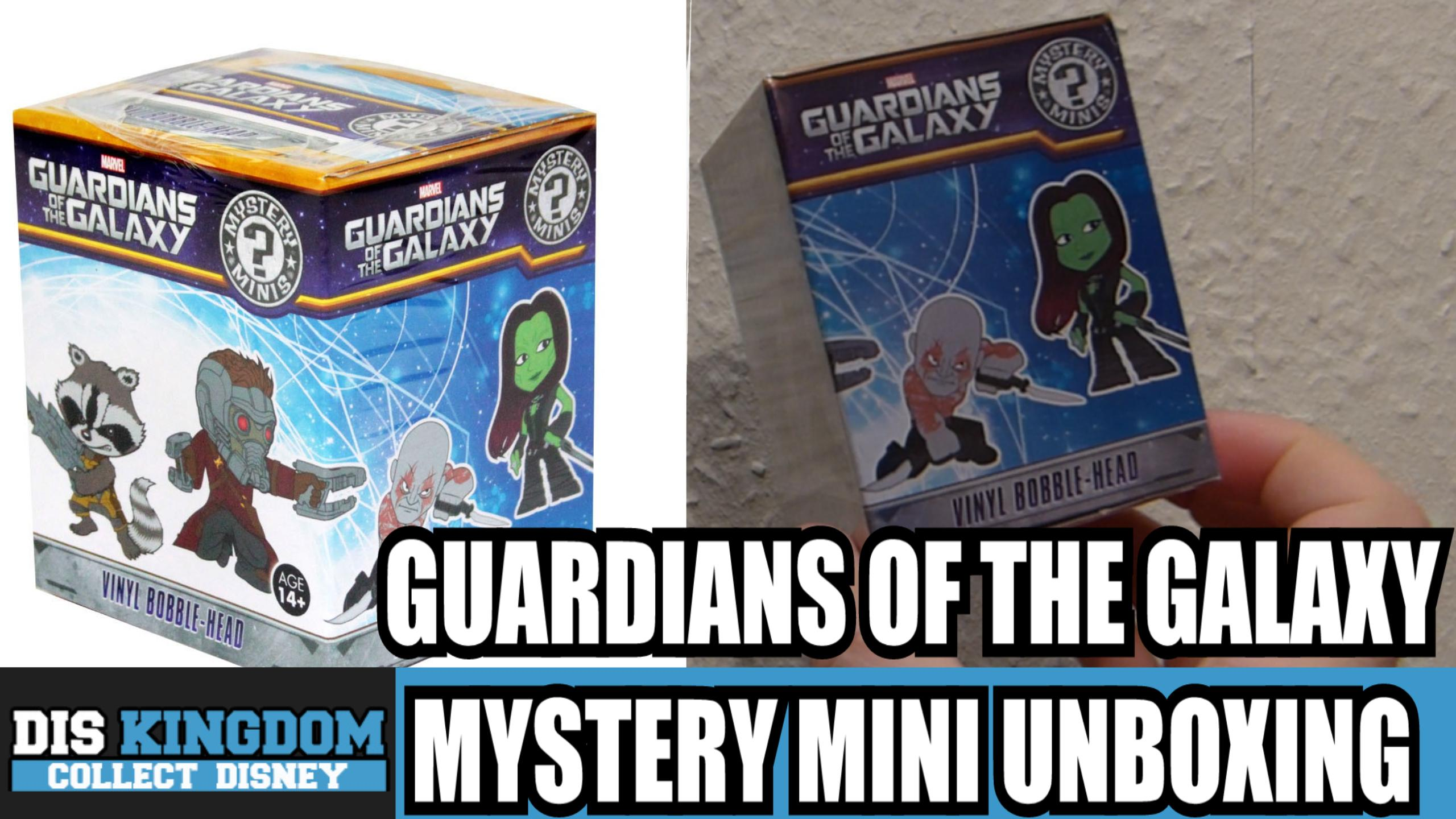 Guardians Of The Galaxy Mystery Mini Unboxing – Funko