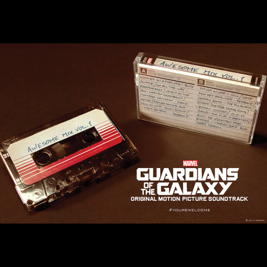 Details On A Guardians Of The Galaxy Cassette