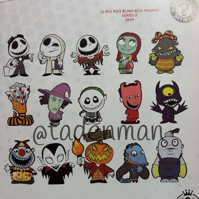 Free Comic Book Day Nightmare Before Christmas: Sneak Peek At Nightmare Before Christmas Series 2 Mystery