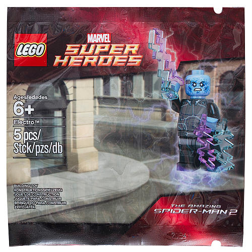 Details On LEGO Super Heroes Electro 5002125 Polybag