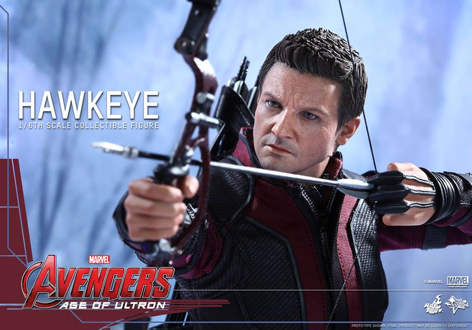 Details On Avengers: AOU 1/6th scale Hawkeye Collectible Figure.
