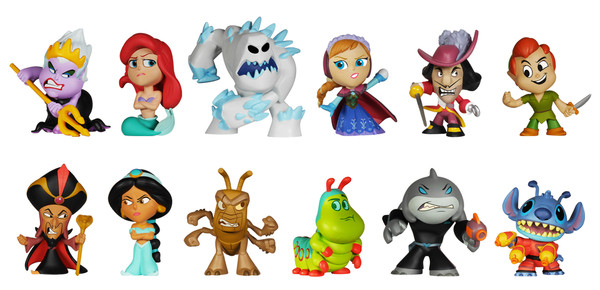 Details On Disney's Heroes & Villains Mystery Minis
