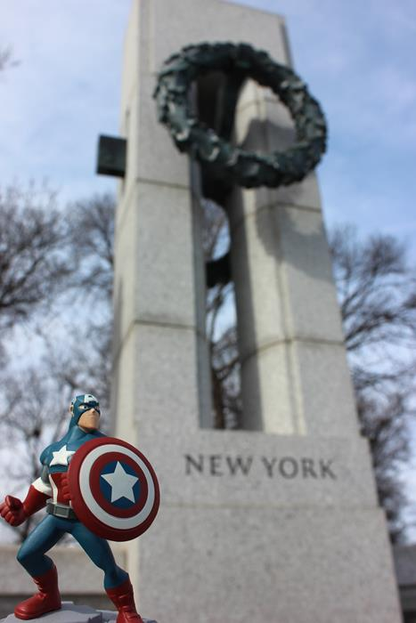Did you know? Captain America is a New Yorker.