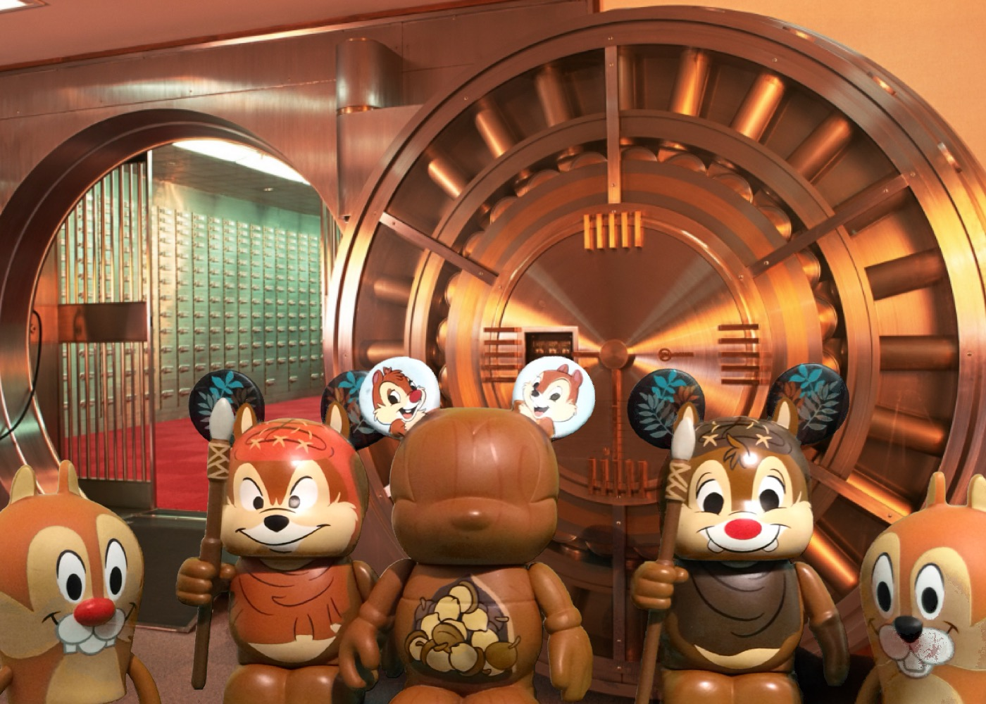 A Vinylmations Vault Look At Chip Amp Dale Diskingdom
