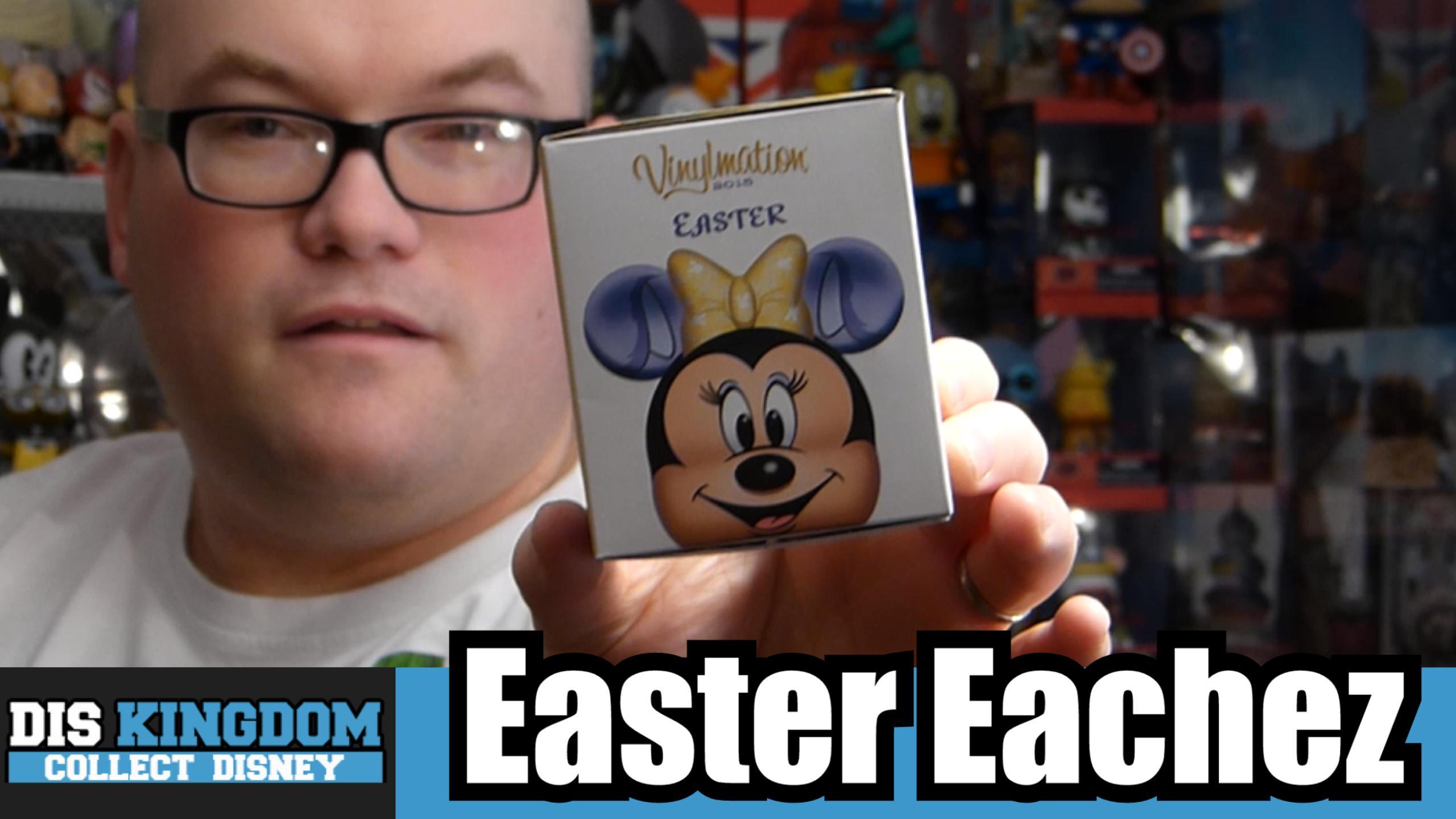 Easter Mickey Mouse Eachez Vinylmation Unboxing