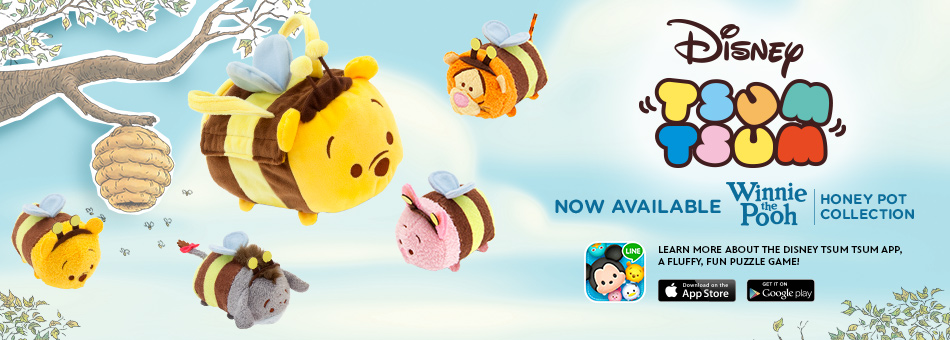 Winnie The Pooh Easter Tsum Tsum Collection Out Now