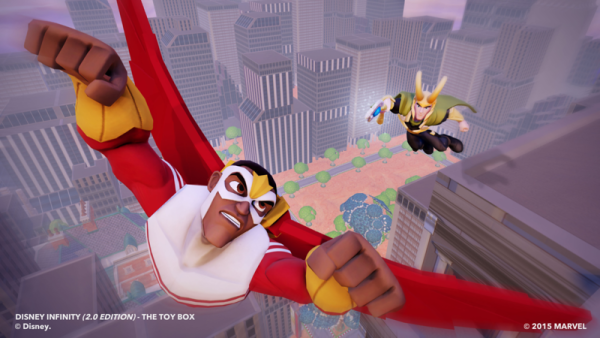 UPDATE: Falcon, Loki, & Two Rare Marvel Power Discs Join Disney Infinity 2.0