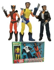Marvel Retro Wolverine Action Figure Limited Edition Box Set Coming Soon