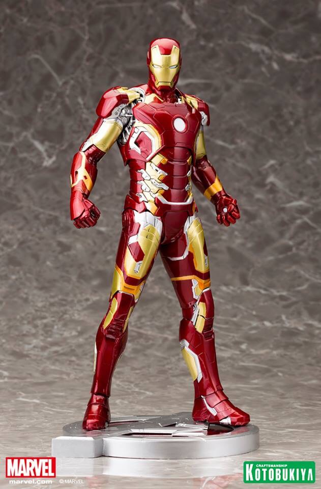 Details On New Avengers: Age of Ultron Iron Man Mark 43 ARTFX Statue.