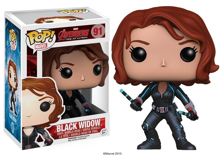Black Widow Pop Vinyl Coming In May