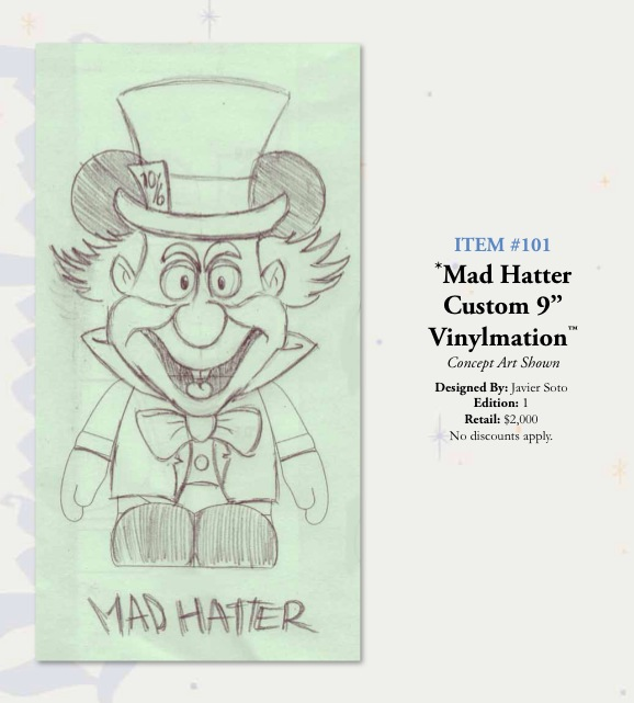 mad hatter 60th