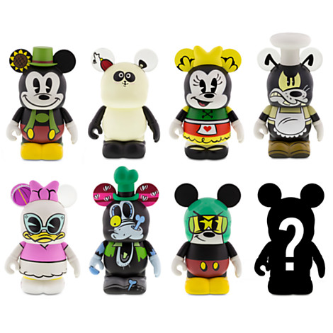 mickey mouse shorts vinylmation