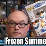 Frozen Summer Olaf Funko Pop Vinyl Review