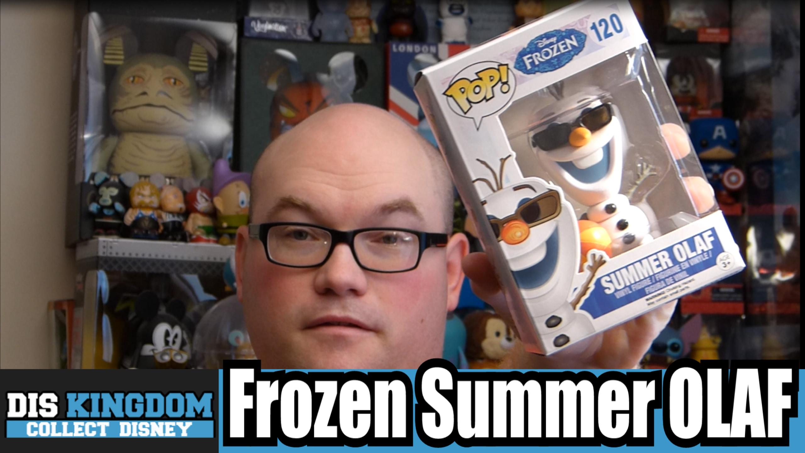Frozen Summer Olaf Funko Pop Vinyl Review