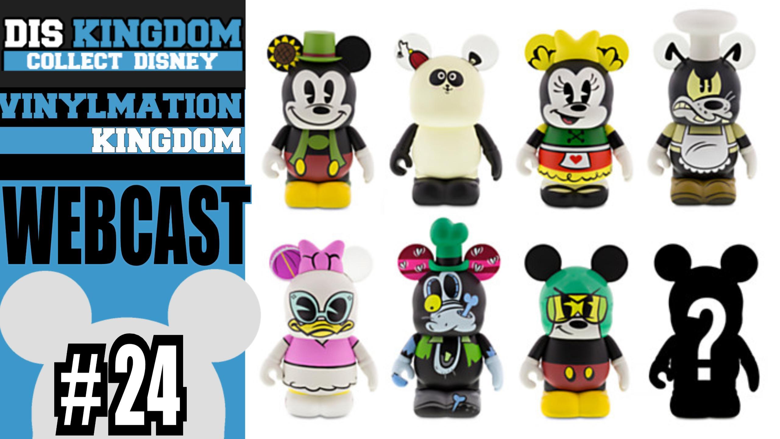 Vinylmation Kingdom 24 Frozen Amp Mickey Mouse Cartoon
