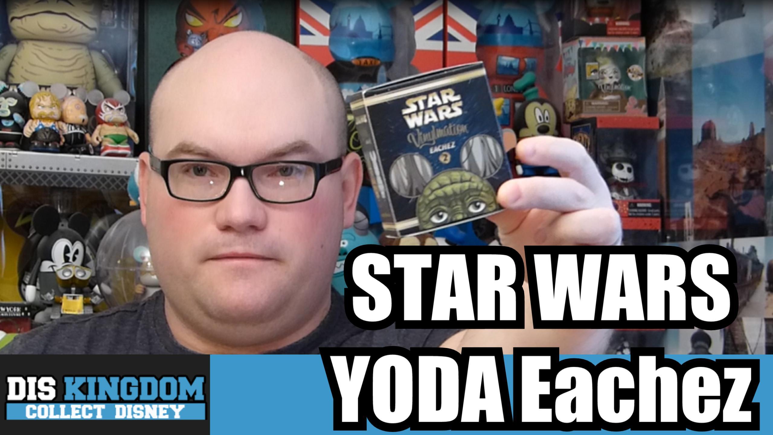Star Wars Yoda Eachez Vinylmation Unboxing
