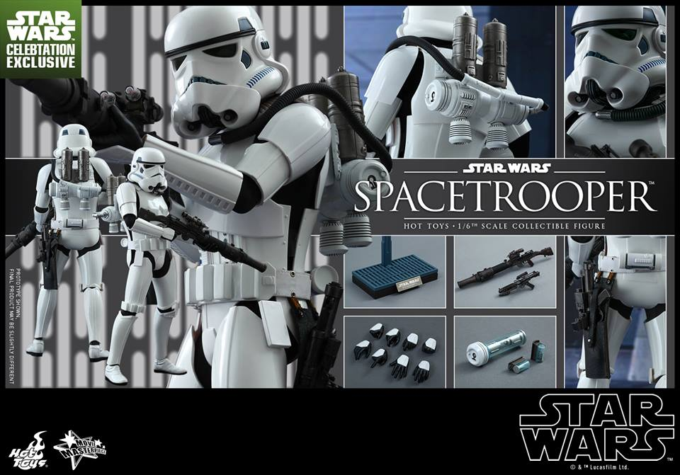 Details On Star Wars Celebration Hot Toys Spacetrooper Figure