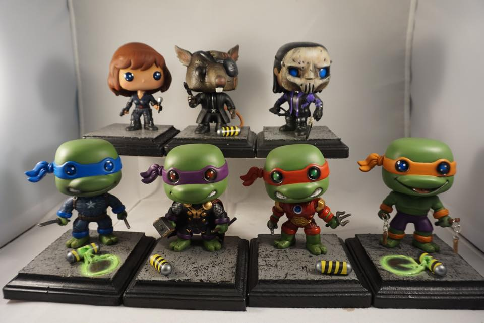 TMNT, Assemble! Tom Shultis Customs