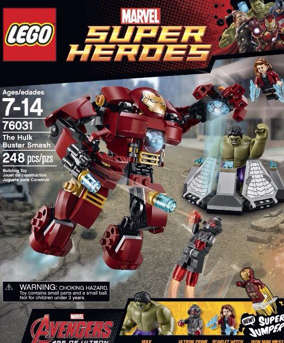 Lego Hulk Buster