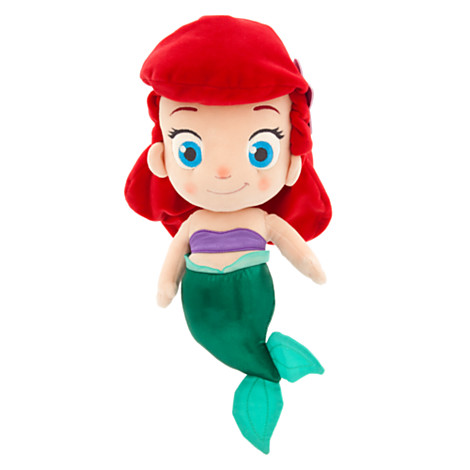 New Disney Princess Toddler Plushes Out Now