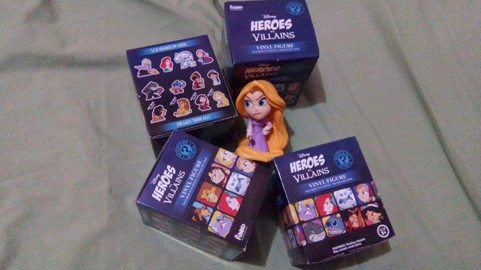Hot Topic to Get Exclusive Disney's Heroes vs. Villains Mystery Minis?