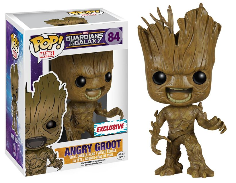 Fan Expo Dallas Exclusive Angry Groot Pop!